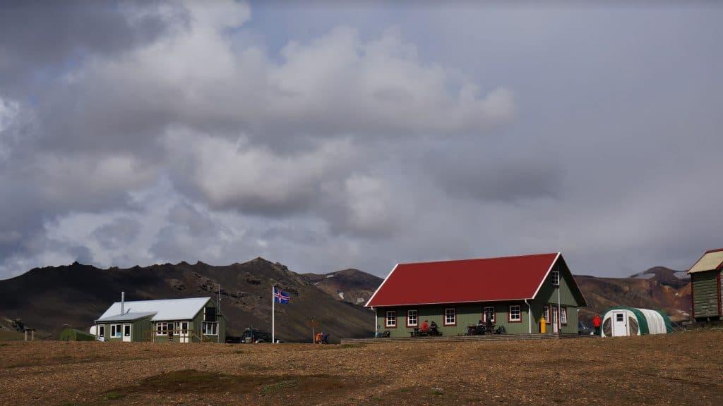 Alftavatn Hut Laugavegur Trail