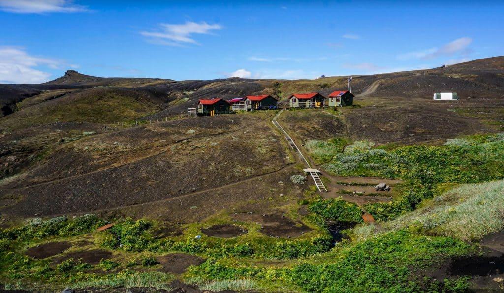 Emstrur Hut Laugavegur Trail