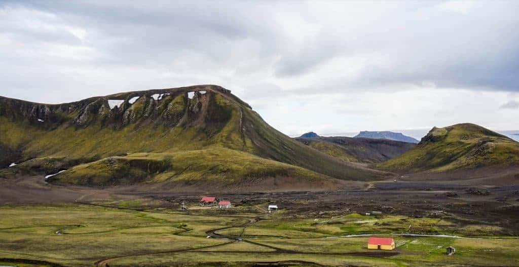 Hvanngil Hut Laugavegur Trail