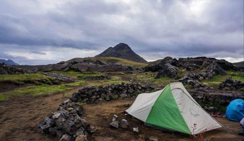Laugavegur Trail Camping