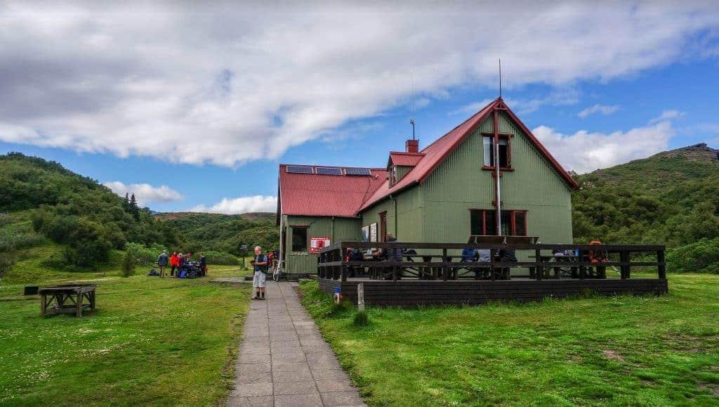 Thorsmork FI Hut Laugavegur Trail