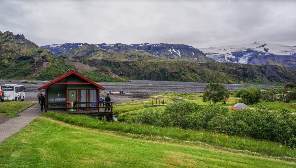 Thorsmork Hut Laugavegur Trail