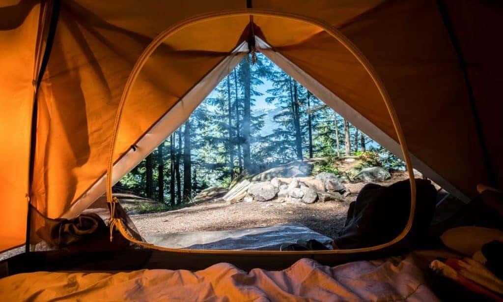 Dispersed camping near Estes Park