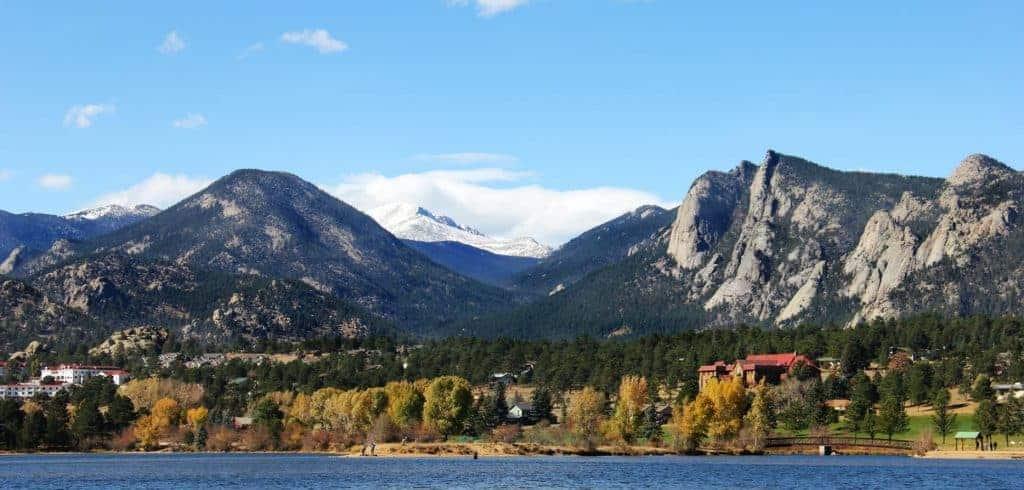 View of Lakes Estes