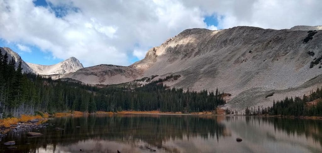 Mitchell Lake in Indian Peaks Wilderness
